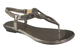 Kirra Beach - Daffodil - Pewter - Sole Sister Shoes