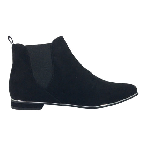 Ziera - Ona - Black Suede - Ankle Boot