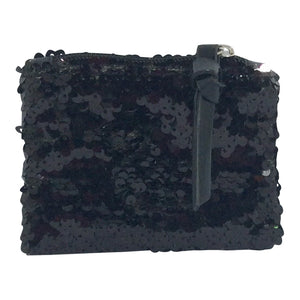 Sequin Purse - Sizzle - Black