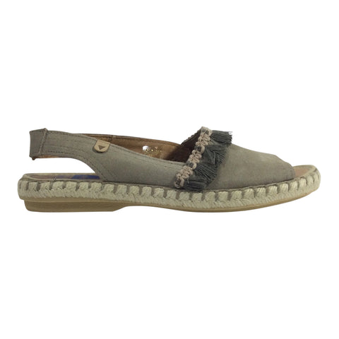 Verbena by Neo Spain - Piedra - Taupe Suede