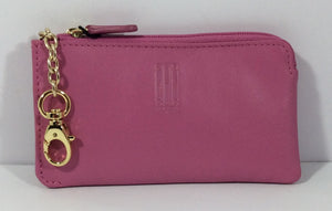 Ili Pink Leather RFID Blocking Card Holder - Safe - Sole Sister Shoes