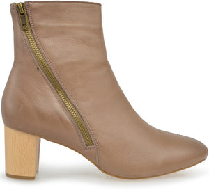 Alfie and Evie - Beach Ankle Boot - Mocha - Sole Sister Shoes