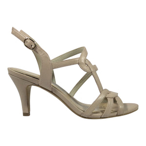 Martini Marco - Mina - Nude Leather Heel - Sole Sister Shoes