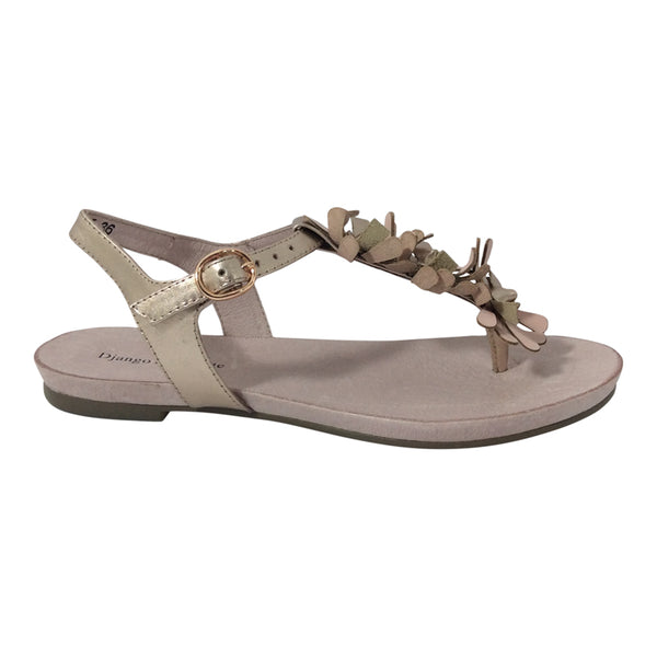 Django and Juliette Shoes - Jeri - Sandals - Rose Gold Blush - Sole Sister Shoes