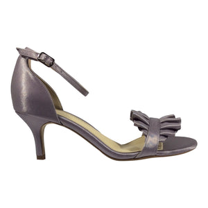 Clarice - Brina - Soft Lavender Satin - Sole Sister Shoes