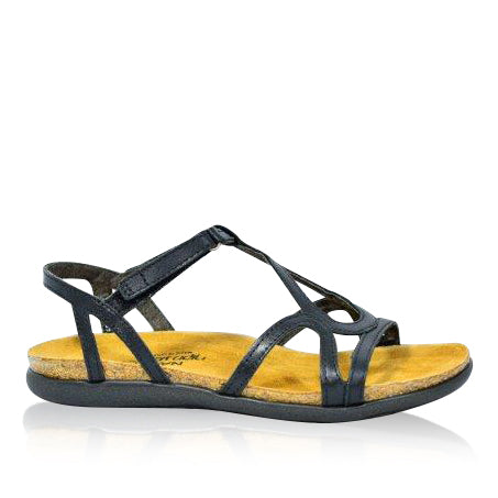 Naot Dorith-Black Orthotic Sandals