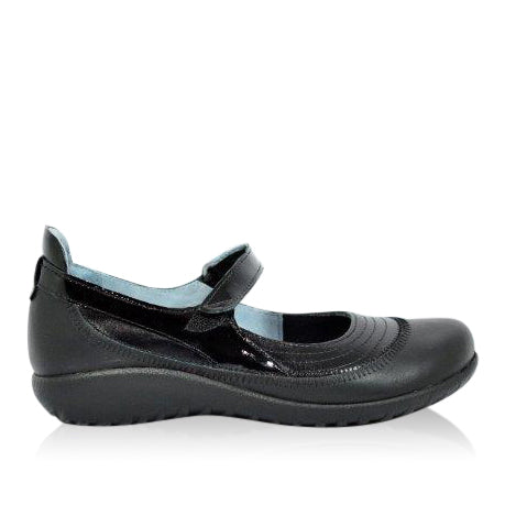 Naot - Kirei -Black / Black Patent Combo - Free Shipping Over $200 - Afterpay - Sole Sister Shoes
