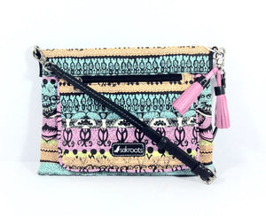 Sakroots Small Cross body Bag - Sherbet One World