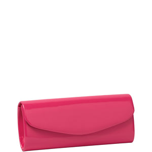 Gabee - Deidre - Fuchsia Patent Envelope Clutch - Sole Sister Shoes