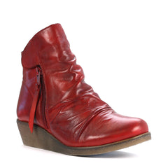 Effegie - Ensoni - Red - Ankle Boot - Sole Sister Shoes