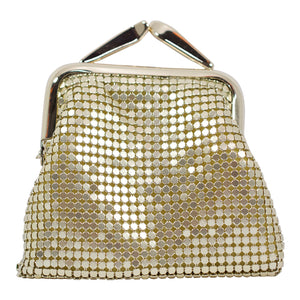 Mesh Coin Purse - Gold - Sole Sister Shoes