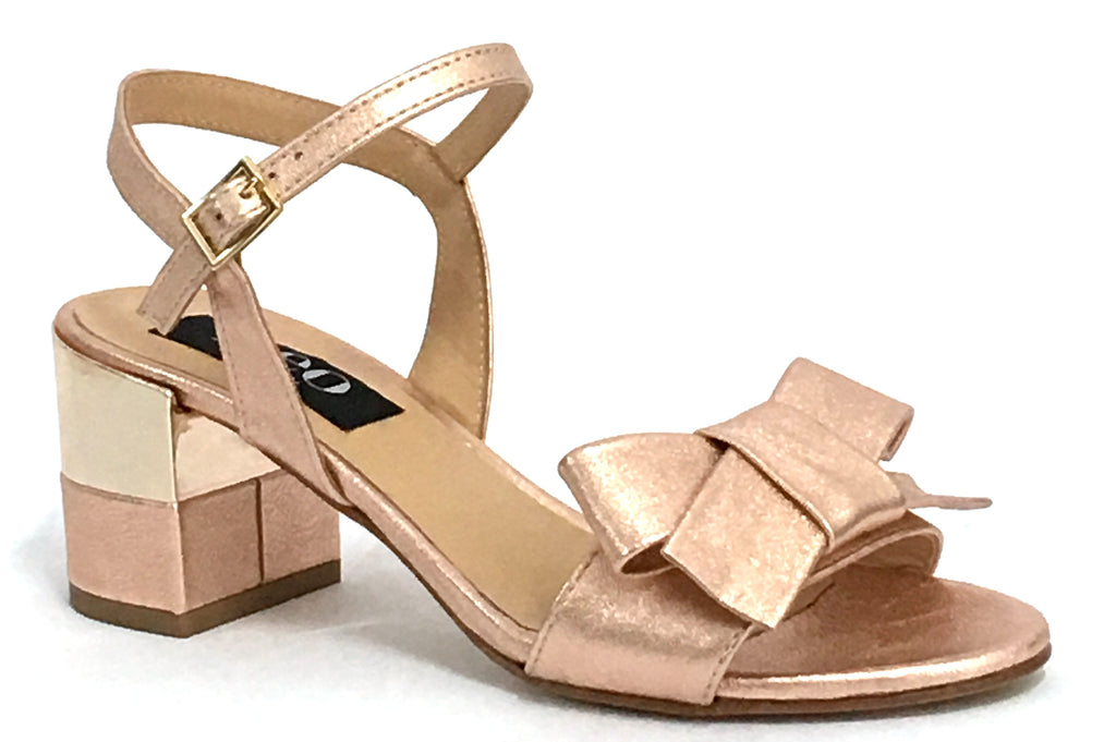 Lena - Rose Gold - Neo Made in Italy - Sole Sister Shoes