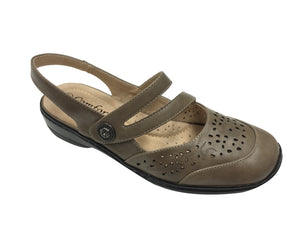 Comfort Leisure - Gabi - Taupe - Sole Sister Shoes