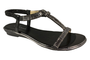 Kirra Beach - Gardenia - Black - Sole Sister Shoes