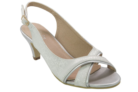 Sophia Ren - Harris Dress Heels - Silver