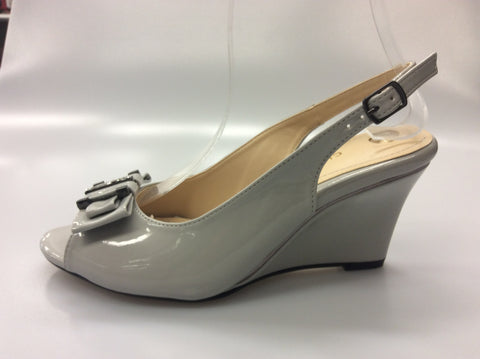 Clarice - Emily Wedges - Grey - Sole Sister Shoes