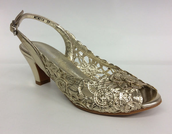Gamins - Mendia - Gold Heels - Sole Sister Shoes