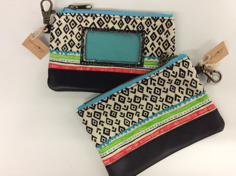 ID Pouch - Tribal Print - Sole Sister Shoes