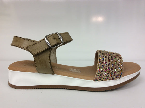 Sundowner - Carolyn - Gold Combo Sandals