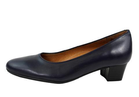 Aerobics - Hostess - Nappa Navy - 3.5cm Heel - Sole Sister Shoes