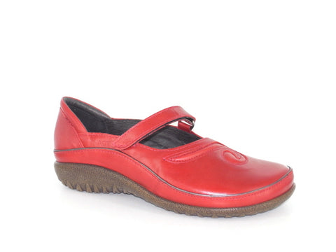 Naot - Matai - Poppy Red Leather - Free Shipping and Afterpay - Sole Sister Shoes