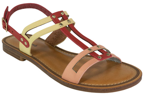 Kirra Beach - Coral Multi Sandal - Maisy - Sole Sister Shoes