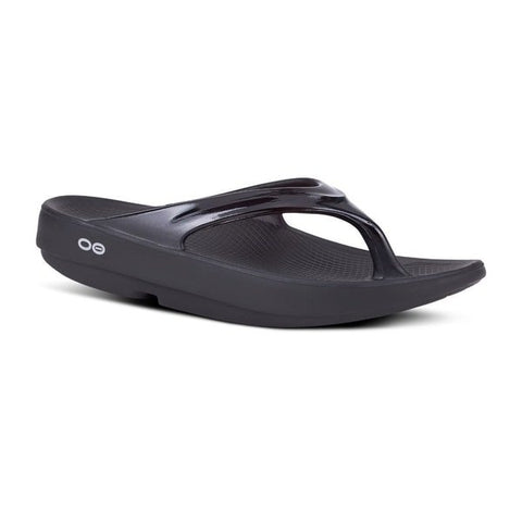 Oofos Thongs - OOlala - Black
