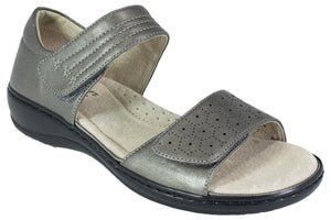 Comfort Leisure - Sandal - Pepper - Pewter - Sole Sister Shoes