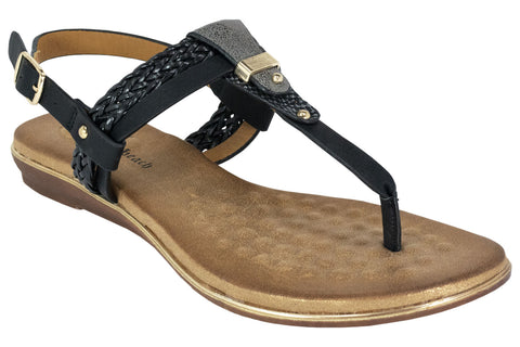 Kirra Beach - Petra - Black - Sole Sister Shoes