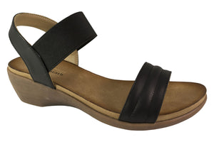 Kirra Beach - Tiffany Sandal - Black