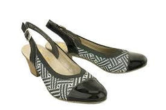 Rieker Shoes - 45071-02 - Black and White