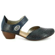 Rieker Shoes - 43711-00 Navy