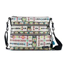 Sakroots Artist Circle Crossbody Optic Spirit Wanderer