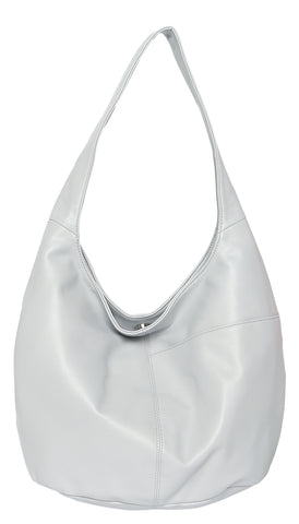 Cosgrove and Beasley - Hobo Bag - Light Grey - Sole Sister Shoes