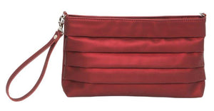 Cosgrove and Beasely - Linda Clutch - Shiny Burgundy - Sole Sister Shoes