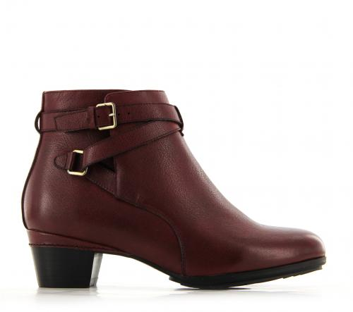 Ziera Boots  - Cameo - Dark Red Leather