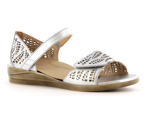 Ziera Shoes - Daphne -Silver - Free Shipping