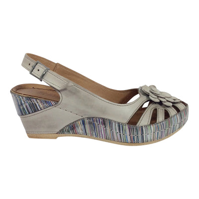 Stegmann - Leather Wedge - Liza - Taupe