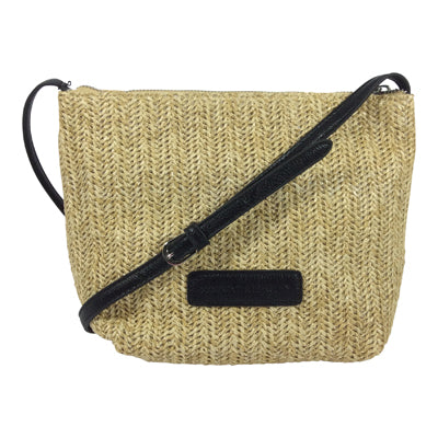 Cosgrove and Beasley Cross Body/Shoulder Bag - Cally - Natural - Sole Sister Shoes