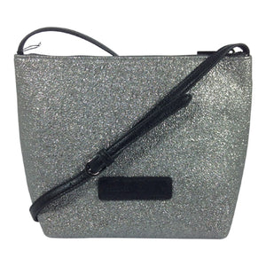 Cosgrove and Beasley Cross Body/Shoulder Bag - Cally - Pewter - Sole Sister Shoes