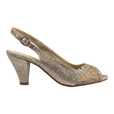 Clarice - Kerry Blush Glitter - Sole Sister Shoes