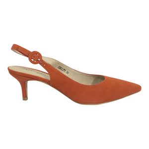 Top End Shoes - Christy - Orange Heels