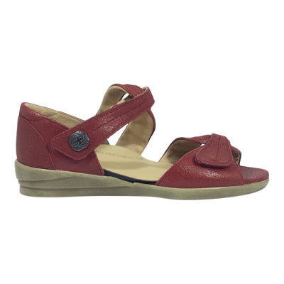 Doxie - Cherry - Ziera Shoes - Free Shipping - Sole Sister Shoes