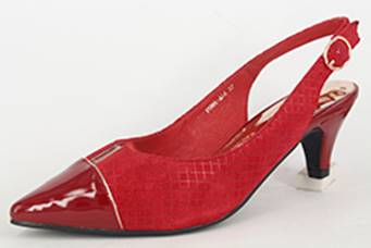 Chrissie - Puma - Red - Sole Sister Shoes