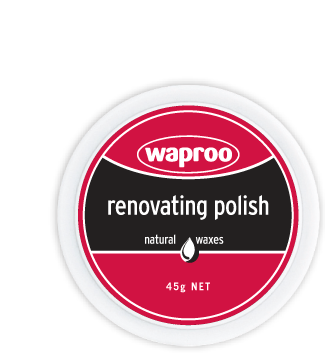 Waproo - Renovating Polish - Bone, Black & Forest Green - Sole Sister Shoes