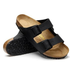 Birkenstock - Arizona - Black Birko-Flor - Narrow Fit - Sole Sister Shoes