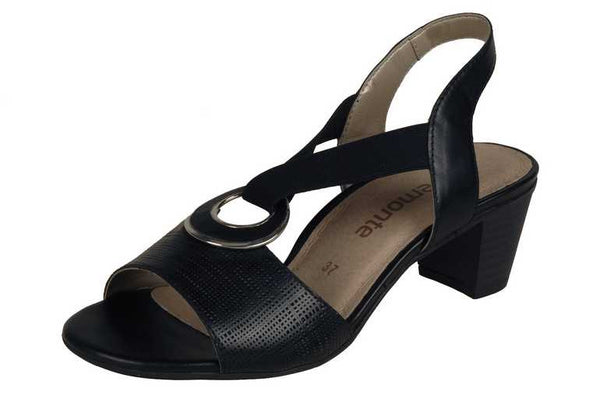 Rieker - R9257 - Black - Sole Sister Shoes