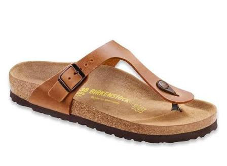 Birkenstock - Gizeh - Antique Brown - Leather
