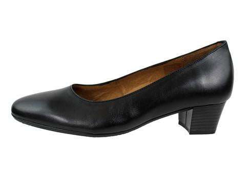 Aerobics - Hostess - Nappa Black - 3.5cm Heel - Sole Sister Shoes