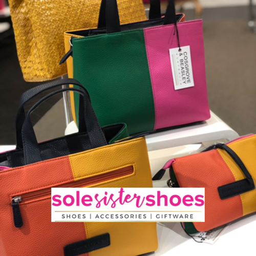 Cosgrove and Beasley - Audrey Grab Bag - Multi Colour - Sole Sister Shoes